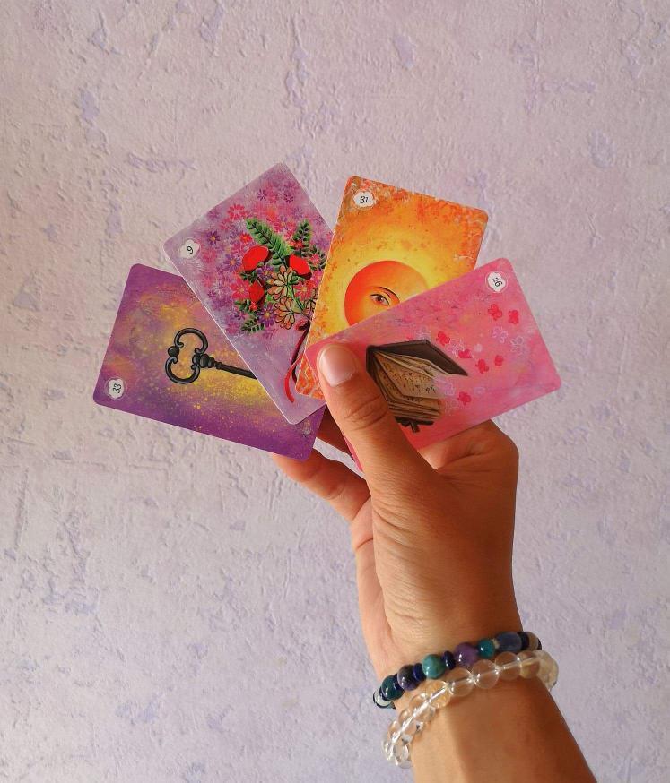 Lisa cartes guidances oracles colorés