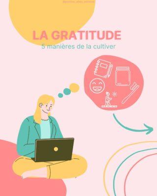 La gratitude, ce mot si tendance et pourtant si unique ❤  Ressentir de la gratitude en nous est tellement puissant.   Cultiver sa gratitude au quotidien à tellement de bénéfices pour soi et pour le monde.   Être dans la gratitude est bon pour la santé mentale.   Plus tu es dans cet état de gratitude, plus tu la renforce en toi et plus tu ressens la gratitude en profondeur.   Tu es dans le cercle vertueux de la gratitude 🙏  C'est pour cela que je te propose 5 manières de cultiver ta gratitude au quotidien dans ce post (swipe 👉 pour les découvrir !)  Et puis si le coeur t'en dit, tu peux toi aussi nous partager en commentaire comment tu aimes (ou aimerais) cultiver ta gratitude dans ton quotidien 🤩  🌸 Je suis Léa, coach Happy, spécialisée dans l'état d'esprit positif et l'épanouissement personnel. Je t'accompagne à prendre conscience que tout est en toi, que toutes les réponses sont en toi et qu'il suffit de te découvrir profondément pour enfin devenir 100% actrice de ta vie ! Créatrice de ton bonheur !  #gratitude #etrereconnaissant #pleineconscience #momentpresent #contribution #etatdesprit #penséepositive #positivité #cerclevertueux  #penseespositives #etreheureux #optimiste #attitudepositive #energiespositives #viepositive #habitudespositives #accomplissementpersonnel #decouvertedesoi #etrealigné #coachdeveloppementpersonnel #travailsursoi #amourdesoi #amourdumonde #attirelepositif #epanouissementpersonnel #journaldegratitude #avoirdelagratitude