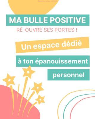 """☀ Super heureuse de t'annoncer que notre Espace en ligne Ma bulle positive est de nouveau ouvert ! 🎉  Un espace pour apprendre à porter un regard plus positif sur soi et sur sa vie  Un espace qui t'aide à développer un état d'esprit plus positif  Un espace qui t'aide à améliorer ton bien-être et ta vie   Un espace qui te permet d'échanger avec les autres, t'inspirer et te motiver  Avec @annagrondin_fr nous souhaitons que tu puisses te sentir libre de venir travailler sur toi, pour toi, à ton rythme. C'est pour cela que nous le proposons sous forme d'abonnement mensuel (sans engagement) 🤩  A partir de septembre nous débuterons le coaching de groupe qui aura lieu une fois par mois en live. Pour que tu puisses aller encore plus en profondeur grâce aux échanges que l'on aura ensemble avec toi et les autres Bullettes.   """" Elles ont chacune une approche différente et ont réussi à lier leurs savoirs pour mieux nous les transmettre. Franchement, je suis vraiment choquée (dans le bon sens ahah) par tout le travail qu'elles ont accomplies pour créer cette plateforme. Je suis hyper heureuse d'avoir investit dans leur projet et d'avoir investi en moi 🙏🏻 C'est quelque chose qui, je sais, va me servir à vie et qui me sert déjà beaucoup 🙏🏻""""- Mots de Pauline, une de nos premières Bullettes et notre ambassadrice d'Amour ❤  🔗RDV directement dans ma bio pour en savoir +   SWIPE 👉 pour aussi découvrir le beau cadeau que nous te faisons pour célébrer cette réouverture 🤩  Je t'envois des superbes belles énergies !! Good tu les as bien reçu ?! Confirme-moi en me laissant un commentaire rempli de Good Vibes aussi 😁🌸  Léa, ta Positive Girl ❣  #espaceenligne #programmedeveloppementpersonnel #programmeenligne #developpementpersonnel #confianceensoi #croireensoi #toutestpossible #changerdevie #oser #nouveaudepart #etatdesprit #penséepositive #positivité #epanouissementpersonnel #devpersonnel #travailsursoi #connaissancedesoi #ouverturedesprit #coachingpersonnel  #revergrand #vivremaintenant #v"""